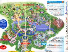 Disney Animal Kingdom Park Map