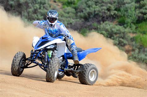 atv motocross racing utv action magazine machine test 2015 yamaha raptor 700