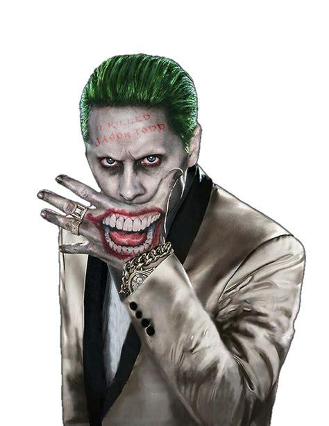 Jared Leto Joker Png Render By Mrvideovidman On Deviantart
