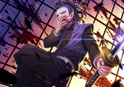 genya shinazugawa kimetsu  yaiba wallpaper hd anime