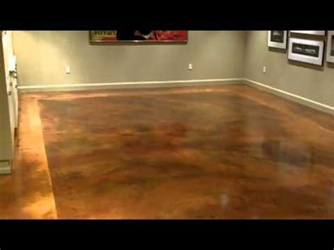 Florentine Floors concrete dye   YouTube