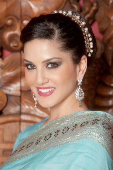 celebrity wallpapers sunny leone  saree bollywood