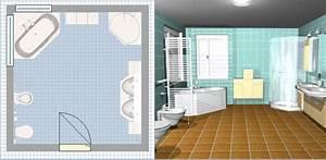 Logiciel 3d Salle De Bain : des logiciels pour faire le plan de sa salle de bains en ~ Dailycaller-alerts.com Idées de Décoration