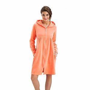 robe velours topiwall With peignoir femme avec fermeture eclair