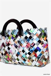 Taschen Selber Machen : taschen selber machen aus zeitschriften candy wrapper bag papershape ~ Orissabook.com Haus und Dekorationen