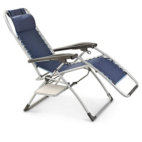 chair with side table mac sports anti gravity chair with side table 232468