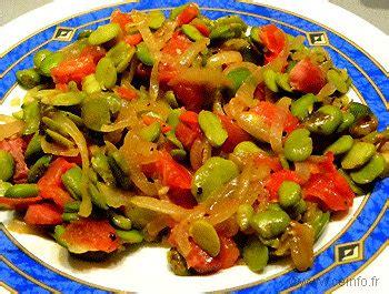 cuisine feve poêlée de fèves aux lardons fumés les légumes cuisinés