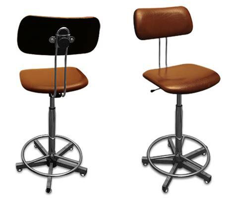 fauteuil bureau industriel chaise haute d atelier