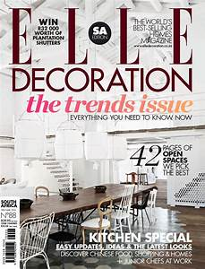 ELLE Decoration South Africa, February / March 2013