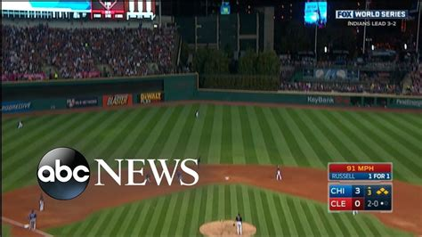 world series game  chicago cubs win  world series