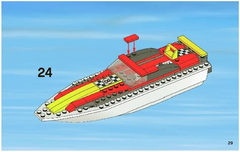 Power Transporter by Lego Power Boat Transporter 4643 City