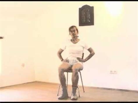 chair exercises for seniors youtube
