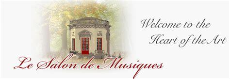 schedule calendar chamber le salon de musiques concert series