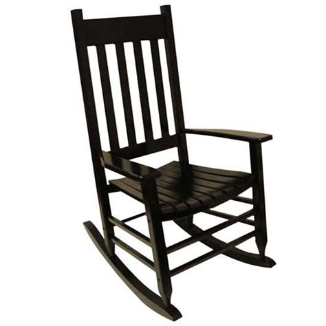 rocking chair design lowes rocking chair black painted
