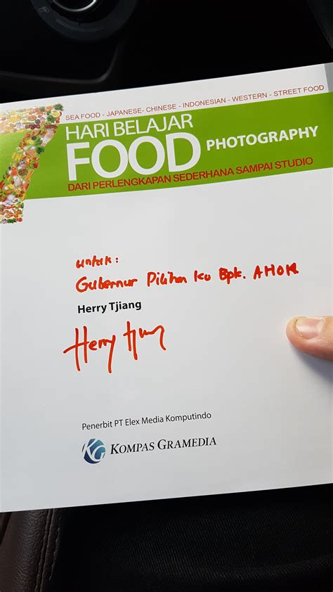 buku food photography  hari belajar food photography