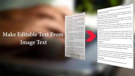 Convert Text To Image Convert Image To Editable Text Image To Text Converter