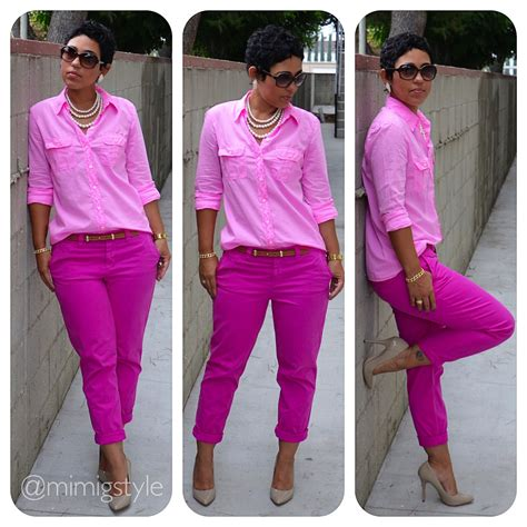 All One Color by Pretty In Pink How To Wear One Solid Color Fashion