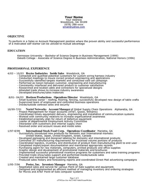 Resume For A Business Owner by Sle Resume For Former Small Business Owner Professional Resume Cover Letter Template