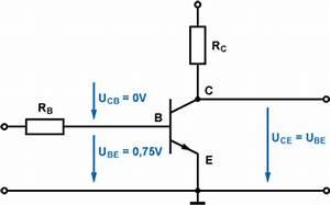 Transistor Berechnen : bersteuerung und s ttigung transistor ~ Themetempest.com Abrechnung