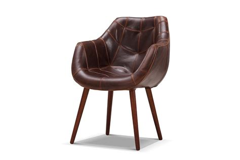 chaise cuir vintage chaise pilote vintage en cuir