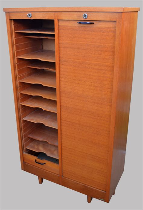 meuble rideau bureau burwood meuble de bureau classeur à rideau 2 colonnes