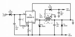 resolved lm2595 adj inverting buck boost feedback With buck boost circuit