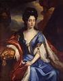 1708 Electress Anna Maria Luisa de' Medici by Jan Frans ...