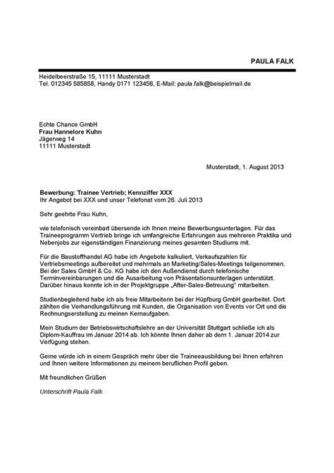 bewerbung fuehrungsposition muster lamar fike