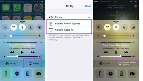 airplay on iphone how to use airplay on your iphone or