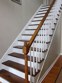 Escalier Couleur Gris by My Foyer Staircase Makeover Reveal In My Own Style