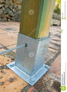 Metal Supports for Wooden Fence Posts