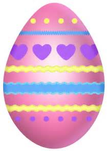easter egg easter pink egg with hearts clipart picture 0 image cliparting com