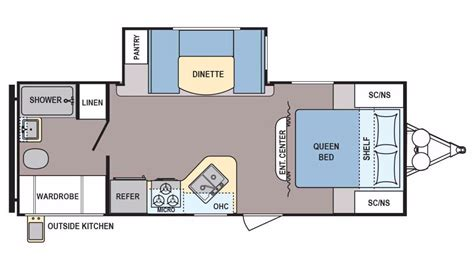 Coleman Travel Trailers Floor Plans by 2016 Coleman Coleman Cts225qb Cing World Of Chicago