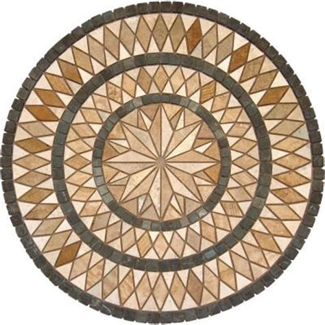 travertine medallion tile ms international medallion 7121 36 in travertine floor and wall tile discontinued smot med