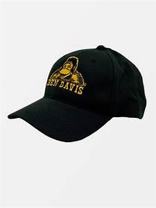 baseball cap gold embroidery ben davis clothing