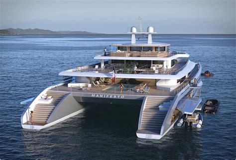 Largest Catamaran Yacht by Manifesto Catamaran Superyacht