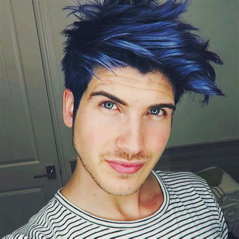 blue hair check    todays video youtube