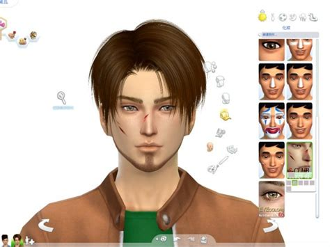 The Sims Resource Scars 01 By S Club Sims 4 Downloads