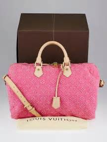 louis vuitton limited edition pink monogram stone speedy