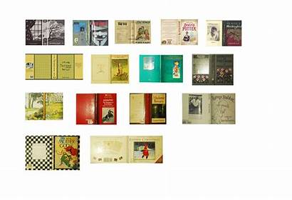 Miniature Covers Printable Printables Dollhouse Mini Books