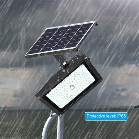 solar flutlicht mit bewegungsmelder 150 led solarleuchte solarle strahler flutlicht solar