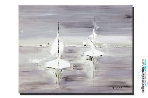 tableaux pour chambre tableau gris voyage en mer grand format rectangle