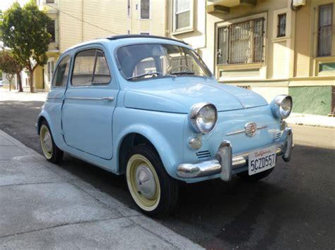 Fiat Of San Francisco by 1958 Fiat Nuova 500 America Convertible 18k Original