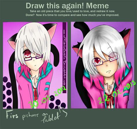 Meme And Neko - meme draw it again neko girl by xxkimikosanxx on deviantart