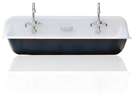 kohler brockway large 48 quot kohler farm sink cast iron porcelain trough sink