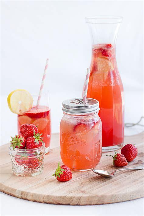 alkoholfreie cocktails selber machen erdbeer melonen limonade rezept ideen cocktail drinks