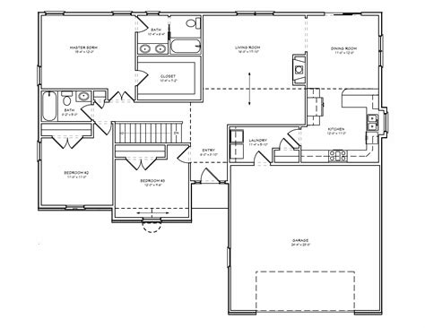 3 bedroom house plans with basement exceptional 3 bedroom house plans with basement 10 simple