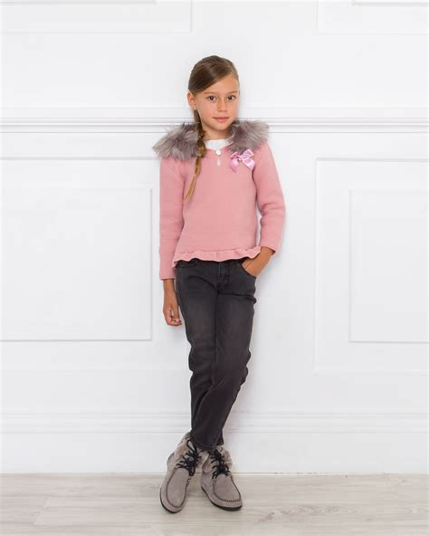 Outfit Jersey Capucha Rosa u0026 Jeans - Outfits | Missbaby