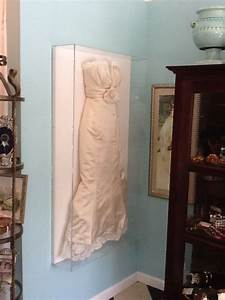 my wedding dress shadowboxed at outrageous framing in fort With frame your wedding dress