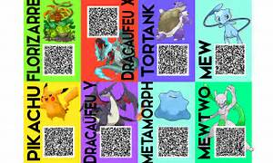 shiny pokemon qr codes images